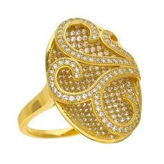 JEWELRY OF DESIRE! DIZEO STERLING SILVER - MICRO PAVE HAND SET JEWELRY WITH HIGH QUALITY SIGNITY STONES, FINISHED IN 18KT YELLOW, WHITE, BLACK & ROSE GOLD