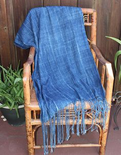 Indigo Mudcloth Tablerunner adds a casual element to any party.