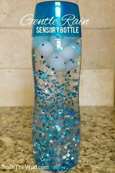 Make your own personal rain cloud in a bottle!