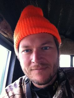 I want to have a whiskey with this man, Blake Shelton