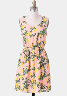 Sweet Lemonade Printed Dress at #Ruche @Ruche  very cute but probably way too short.