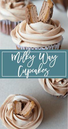 Milky Way Cupcakes Recipe
