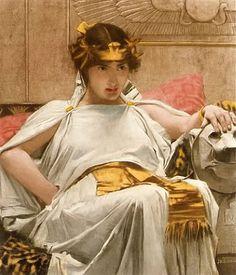 John W. Waterhouse. Cleopatra