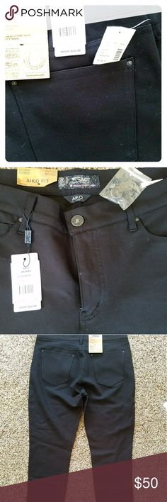 Women's aiko silvers Brand new never worn quality black skinny black pants.  Very versatile. Can be worn for work, dress up or dress down for an every day casual feel. These pants have front& back pockets & are made out of quality material. Sick of cheap leggings/jeggings/skinnies that you go through like Crazy due to them being cheaply made,  these pants will change your world.  I bought 3 pair because I had been going through work pants like crazy but since these are made so well I don't…