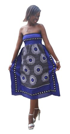 Khanga Dress