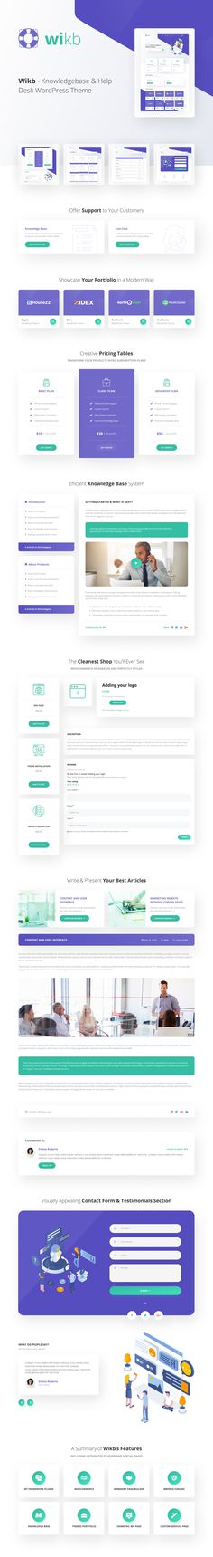 Wikb - Knowledgebase & Help Desk WP Theme by modeltheme Help Desk, Things To Come, Social Media, Digital, Social Networks, Social Media Tips