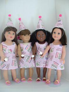 American Girl Birthday Party Favors. $48.00, via Etsy.