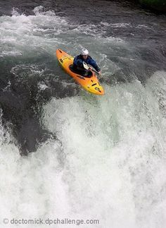 #Kayak about to drop off a #waterfall Visit https://store.snowsportsproducts.com for endorsed products with big discounts.