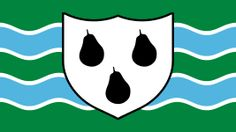 The new Flag of Worcestershire (England). Fly it with pride!! Worcestershire is the best.