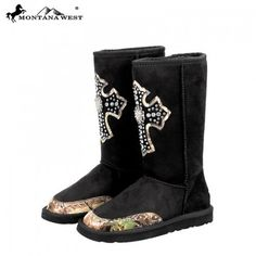 Montana West Camo Cross Ugg Boots; (except in brown) now these are some uggs I'd actually wear lol