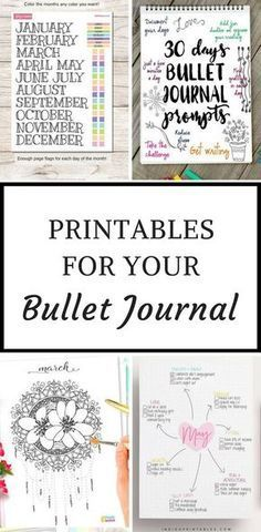 Bullet Journal Printables - when you don't have time to draw out your layouts you can just print them out and stick them in your bujo instead! Bullet Journal Page, Bullet Journal Hacks, Bullet Journal Printables, Journal Template, Bullet Journals, Journal Pages Printable, Art Journals, Life Planner, Planner Ideas