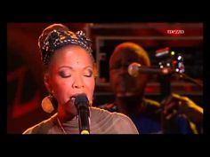 ▶ Four Women: Simone, Dianne Reeves, Lizz Wright, Angélique Kidjo - YouTube   Great musicians - Different vibe :-)