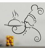 Buy Creative Width Chef At Work Vinyl Wall Sticker & Decal Online - Other Wall Stickers - Decals - Home Decor - Pepperfry Product Wall Painting Decor, Mural Wall Art, Wall Art Decor, Vinyl Wall Stickers, Wall Decals, Kitchen Wall Art, Chalk Art, Painting For Kids, New Art