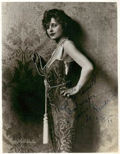 Rubye De Remer  was an American dancer and actress in silent films. (The Auction Block, The Evil Eye) 1892-1984