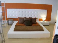 White Headboards King With Modern Bed