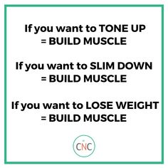 There are 4 main reasons women come to work with us. They want to:  🔹Tone Up 🔹Get Lean 🔹Slim Down 🔹Lose Weight  And we help them do just that!  Want to know the secret to doing it?  BUILDING MUSCLE! Find out more about our programs and how we can help you! Nutrition Program, Nutrition Plans, Guys Be Like, Just Do It, Carrots N Cake, Macro Nutrition, Get Lean, Tone It Up, Muscle Mass