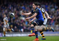 Leinster , Ireland - 1 April Joey Carbery of Leinster during the European Rugby Champions Cup Quarter-Final match between Leinster and Wasps at Aviva Stadium in Dublin. Dublin, Rugby, Ireland, Champion, Irish, Football