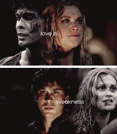 Love Is Weakness #Bellarke