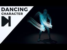 (107) Cinema 4D Tutorial - Dancing Character With Glowing Trails - YouTube