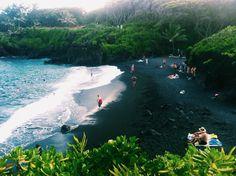 Wainapanapa State Beach, Maui