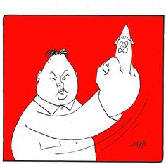 Kims Finger, Herbjorn Skogstad,Norway,north korea,kim jong un,missiles,finger