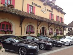 Le Rallye Aston Martin 2014 en Bourgogne