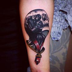 love is treasure traditional tattoo lovers