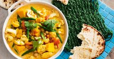 Boasting 7 serves of vegetables, this vegetarian curry is slow cooked perfection. Enjoy for dinner tonight and savour leftovers for lunch later in the week.