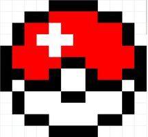 8 bit pokemon grid  Google Search  Pokemon crochet