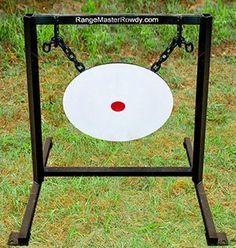 Gong Steel Target made of Steel Shooting Table, Shooting Gear, Shooting Sports, Shooting Stand, Shooting Practice, Steel Targets, Pistol Targets, Archery Targets, Metal Shooting Targets