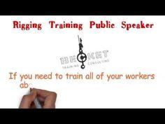 Rigging Training Public Speaker