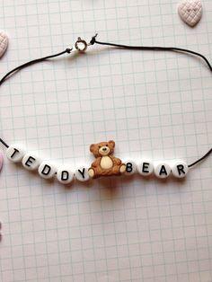 $5.50  Teddy Bear Melanie Martinez Inspired Choker by BooshyBooCreations