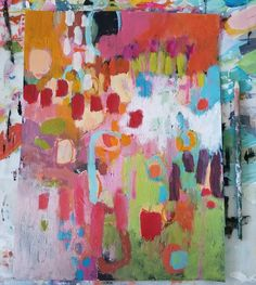 Colorful Abstract Art, Abstract Canvas, Canvas Art, Creative Arts Therapy, Room Ideas Bedroom, New Love, Beautiful Words, Mixed Media Art, Art Projects