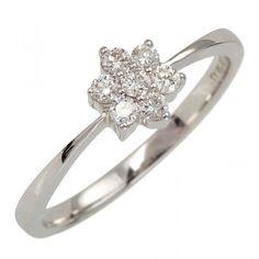 Fiori - wie eine Schneeflocke #Hochzeit #Liebe #Verlobung #Partner #Zusammenhalt #love #wedding #forever #ring | | BREEDIA - verlobungsring.de