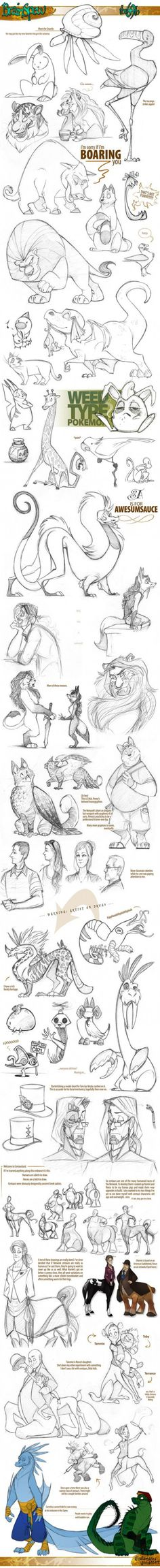 New Drawing Animals Sketches Character Design 57 Ideas Animal Sketches, Animal Drawings, Drawing Sketches, Drawing Animals, Drawing Style, Sketching, Drawing Ideas, Character Drawing, Character Concept