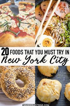 Dreaming of food in New York City? Twenty foods that you must eat in New York City and the best restaurants to find them at. Your essential NYC eating guide. - Travel New York - Ideas of Travel New York New York Eats, New York Food, New York City Vacation, New York City Travel, New York Travel Guide, Restaurant New York, Nyc Restaurants, Foodie Travel, Places To Eat