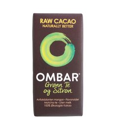 Deilig, smakfull økologisk sjokolade laget med rå kakao av høy kvalitet fra Ecuador og søtet med økologisk kokosblomstsukker. Tilsatt grønn te og sitronpulv