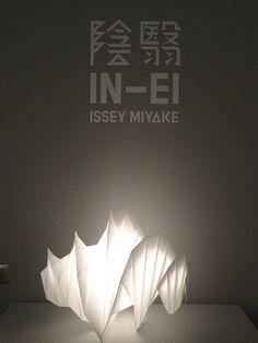 2012年 ミラノ・サローネ 照明ブランドのアルテミデ×イッセイ・ミヤケ