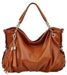 Soft Leather Slouched Tasseled Multi-Strap Shoulder « Clothing Impulse