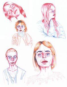 איה טלשירLucy Dubinchik Portraits | Colored Pencils | Aya Talshir | Flickr