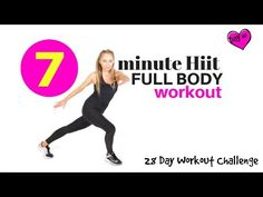 HIIT ROUTINE -HOME EXERCISE WORKOUT VIDEO - FULL BODY CARDIO HITT - ideal as a Beginners Workout - YouTube