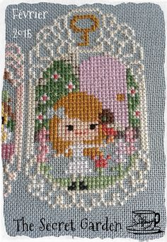 Story Time Sampler February by The Frosted Pumpkin Stitchery - The Secret Garden