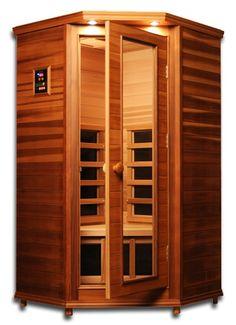 Hanko™ Elite 1 Person Infrared Sauna Room Kit - Canadian Cedar
