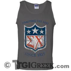 TGI Greek - Sigma Chi - Rush - #TGIGreek #SigmaChi #comfortcolorstanks