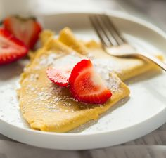 6-Ingredient Paleo Crêpes from Food Faith Fitness