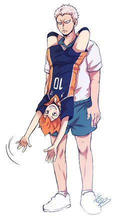 Aone and Hinata