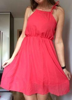 Kup mój przedmiot na #vintedpl http://www.vinted.pl/damska-odziez/krotkie-sukienki/9649577-sukienka-36-brzoskwiniowa-na-lato