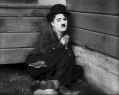 """meowth812: """" Easy Street (1917). I love how he looks in this film, especially here, so young and ethereal. Thanks """"Charlie Chaplin, a Légend of the Cinéma"""" Facebook page for the upload. """""""