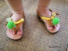 Baby Leather Sandals 🌻 Χειροποίητα παιδικά σανδάλια Palm Beach Sandals, Leather Sandals, Crafts For Kids, Photo And Video, Baby, Handmade, Instagram, Fashion, Crafts For Children