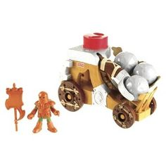 imaginext battering catapult Christmas 2013
